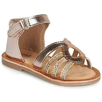 Shoes Girl Sandals André LEÏA Gold