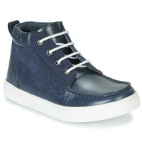 Shoes Boy Mid boots André PIRATE Marine