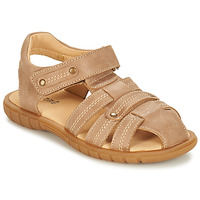 Shoes Boy Sandals André RADEAU Beige