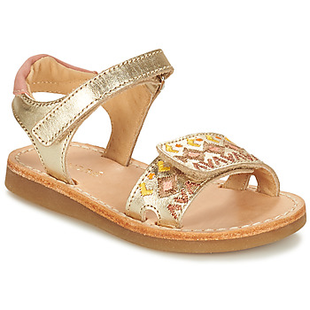 Shoes Girl Sandals André ALMERIA Gold
