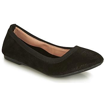 Shoes Women Ballerinas André CARLARA Black