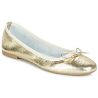 Shoes Women Ballerinas André PIETRA Gold