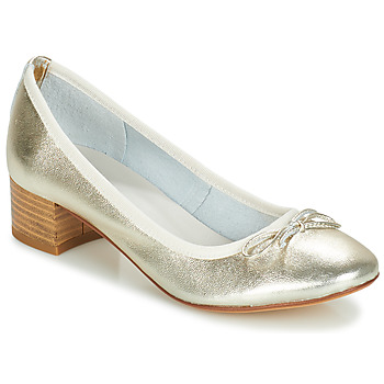 Shoes Women Court shoes André POETESSE Gold