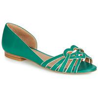 Shoes Women Ballerinas André CHRISTIE Green