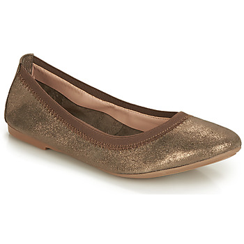 Shoes Women Ballerinas André CARLARA Bronze