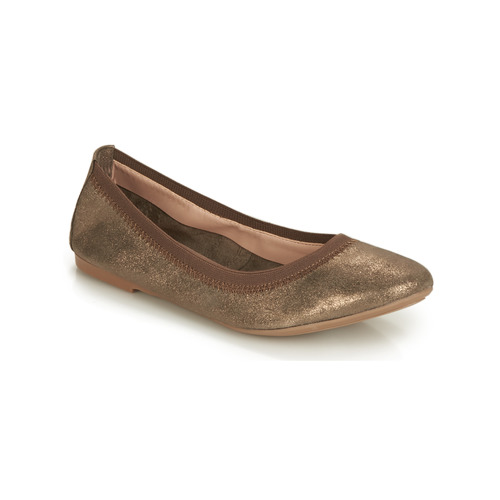 Shoes Women Ballerinas André CARLARA Bronze