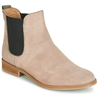 Shoes Women Mid boots André RIDER Beige