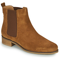 Shoes Women Mid boots André CHATELAIN Beige