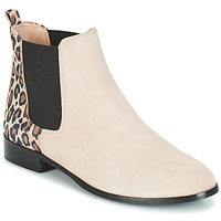 Shoes Women Mid boots André CHAMANE Beige