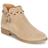 Shoes Women Mid boots André RAVIE Beige
