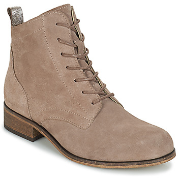 Shoes Women Mid boots André GODILLOT Taupe