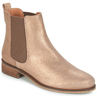 Shoes Women Mid boots André CHATELAIN Gold