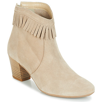 Shoes Women Ankle boots André RILAN Beige