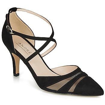 Shoes Women Court shoes André CARMEN Black