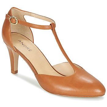 Shoes Women Court shoes André FALBALA Camel