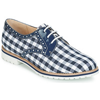 Shoes Women Derby shoes André DERIVEUR Blue