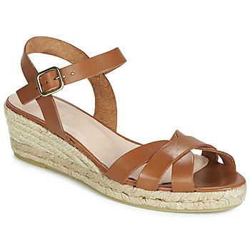 Shoes Women Espadrilles André RODA Cognac