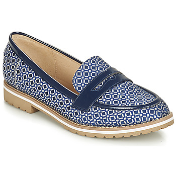 Shoes Women Loafers André PORTLAND Blue