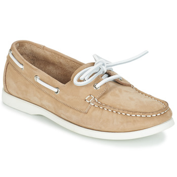 Shoes Women Boat shoes André CATBOAT Beige