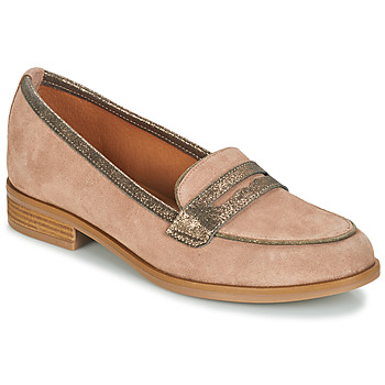 Shoes Women Loafers André ROAD Beige