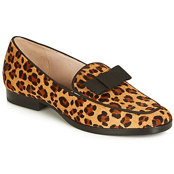Shoes Women Loafers André Studio LA CAPRICIEUSE Leopard