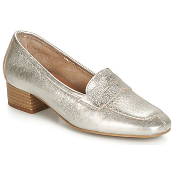 Shoes Women Loafers André SENLIS Silver