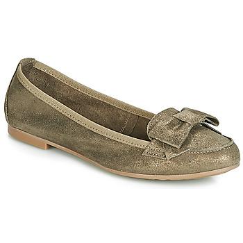 Shoes Women Loafers André CELIA Kaki