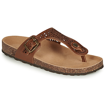 Shoes Women Flip flops André RILA Camel