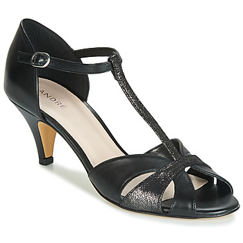 Shoes Women Court shoes André CLAQUETTE Black