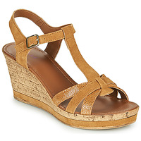 Shoes Women Sandals André ALOE Camel