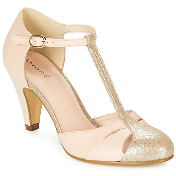 Shoes Women Sandals André CANCAN Pink