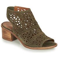 Shoes Women Sandals André CARIOCA Kaki