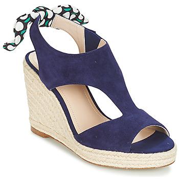 Shoes Women Sandals André SWING Blue