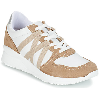 Shoes Women Low top trainers André ALLURE Beige
