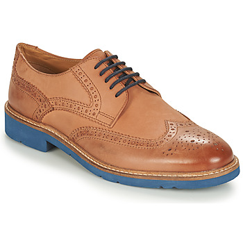 Shoes Men Derby shoes André FLOWER Brown / Blue