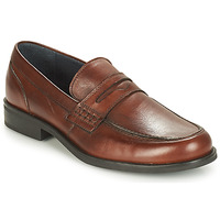 Shoes Men Loafers André KOLL Brown