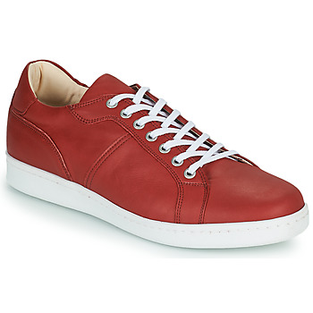 Shoes Men Low top trainers André AURELIEN Red