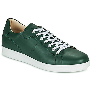Shoes Men Low top trainers André AURELIEN Green