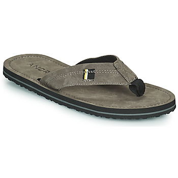 Shoes Men Flip flops André OCEANO Grey