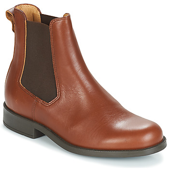 Shoes Women Mid boots Aigle ORZAC W 2 Cognac
