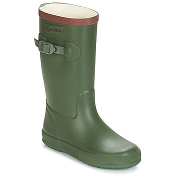 Shoes Children Wellington boots Aigle PERDRIX Kaki