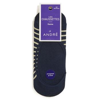 Accessorie Women Socks André NINON Marine