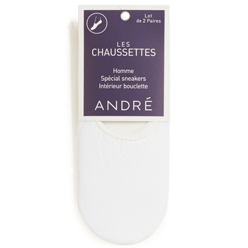 Accessorie Men Socks André TERRY White