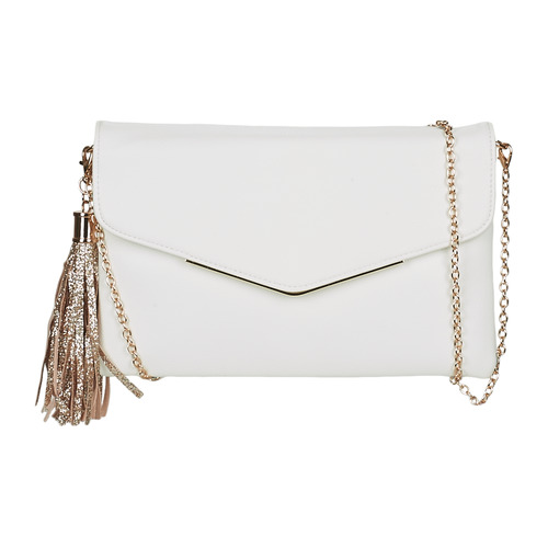 Bags Women Evening clutches André AMETHYS White
