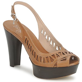 Shoes Women Sandals Fabi CALECHE Brown