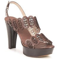 Shoes Women Sandals Fabi PANAMA Brown