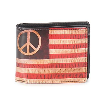 Bags Men Wallets Kothai PORTEFEUILLE HIPPY FLAG Red / White / Blue