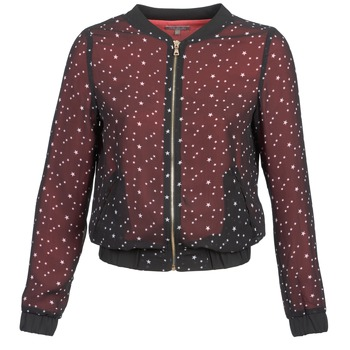 material Women Jackets / Blazers Moony Mood CAT Black / Red