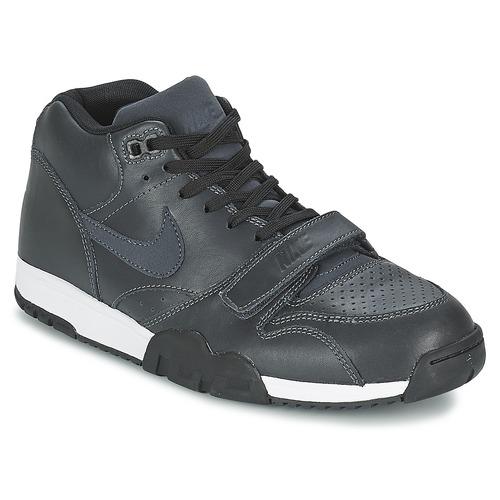 Nike AIR TRAINER 1 MID Black - Fast