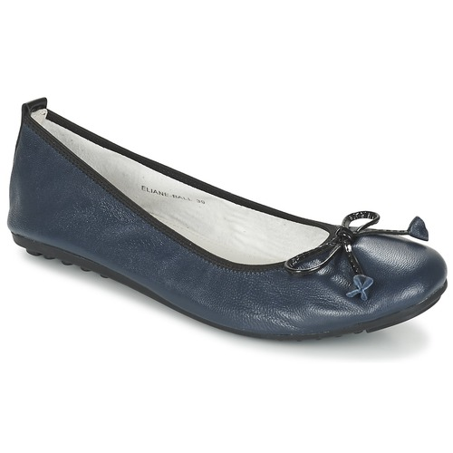 Shoes Women Ballerinas Mac Douglas ELIANE Marine